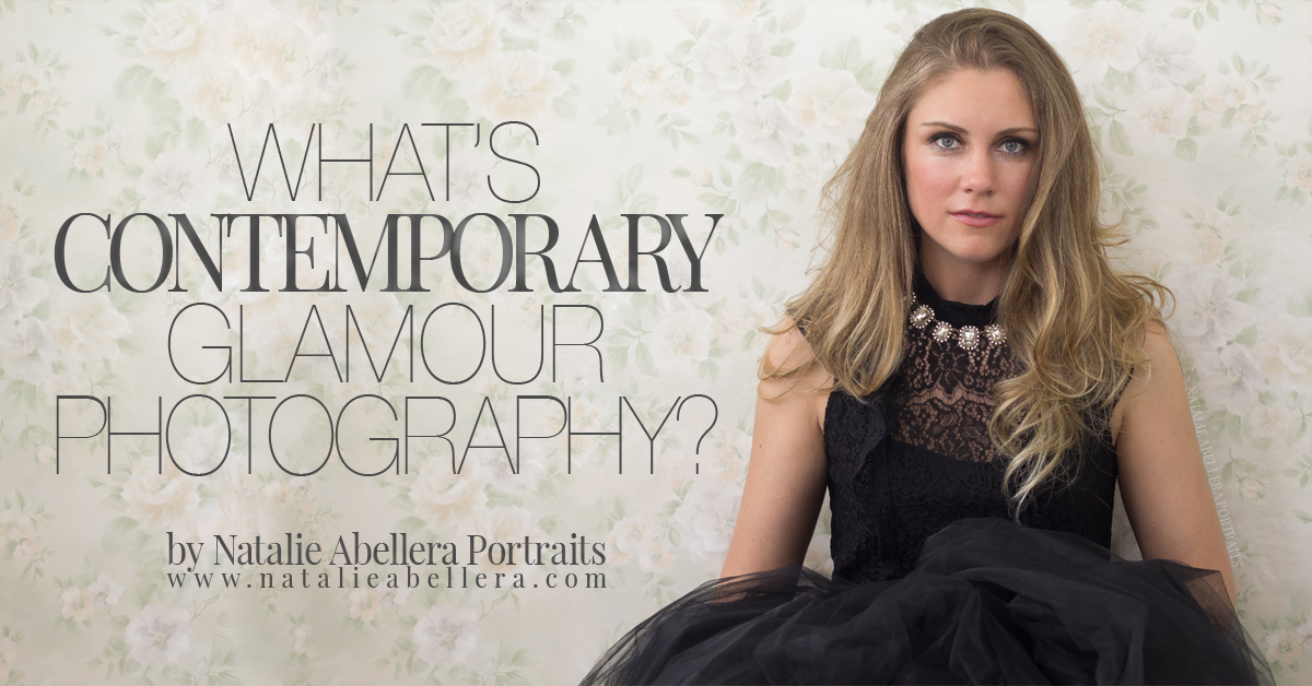 What's Contemporary Glamour Photography